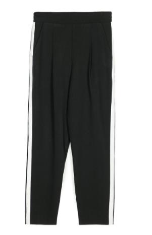 4 - calças com faixa